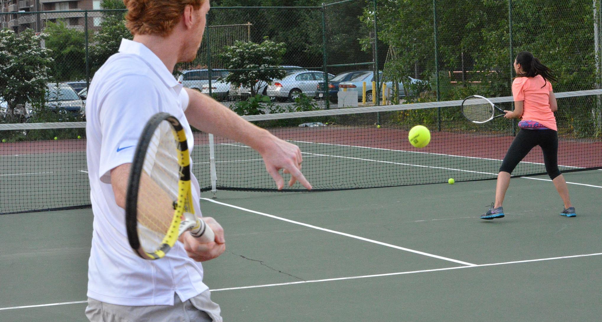 DC's best Tennis leagues - DC Fray