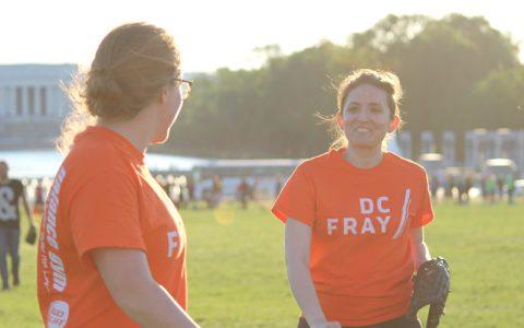 Softball Social Sports Leagues // DC Fray // #FrayLife