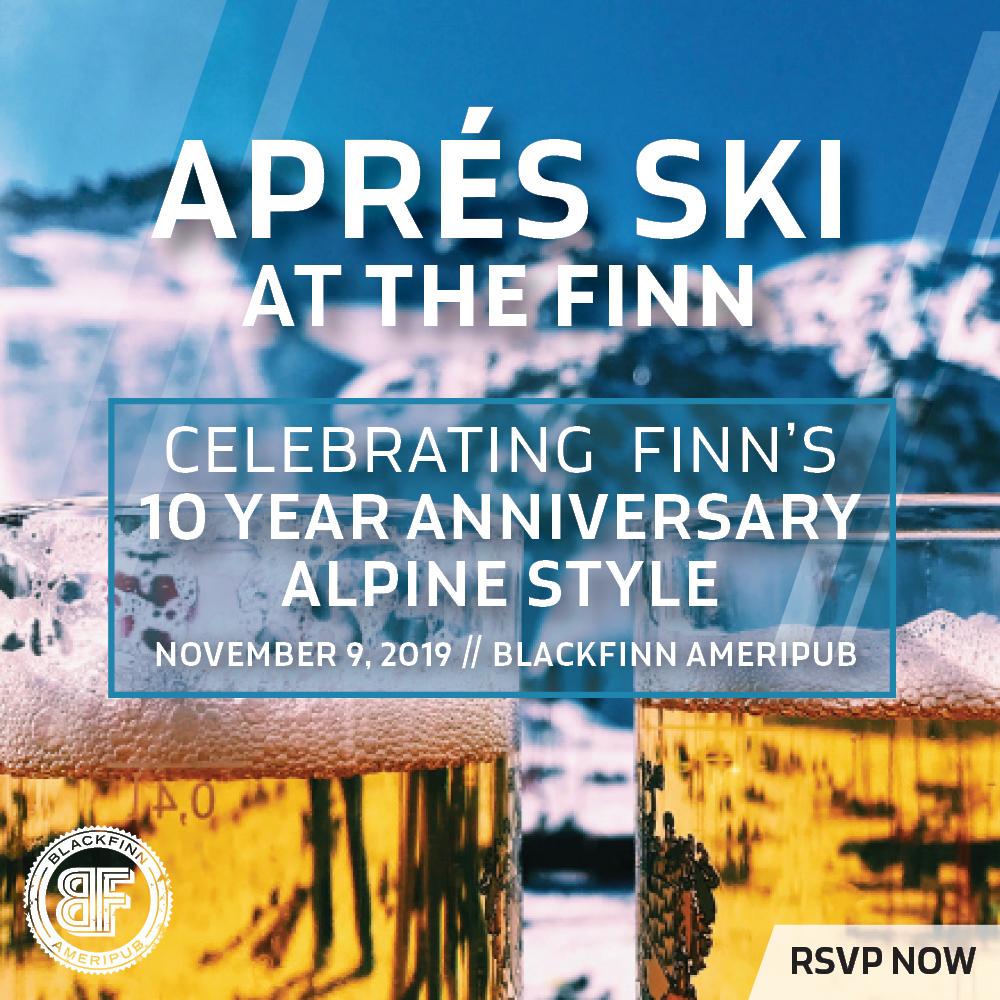 Apres Ski at The Finn - Sidebar Ad