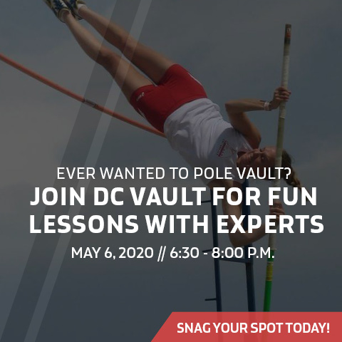 Pole Vaulting May 6 Ad
