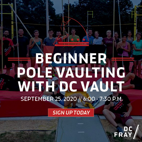 dc pole vaulting banner ad