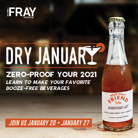 dry january events ad promo