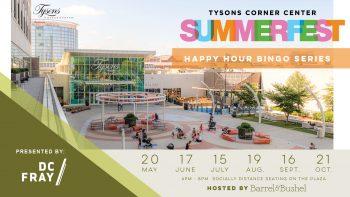 Bingo Night at Tysons Corner Web Banner 1920X1080